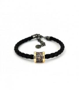 METAMORPHOSIS LEATHER BRACELET