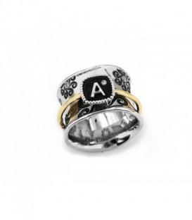 "ALPHABET ""A"" RING"