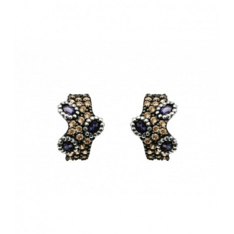ALLEGRIA SEMI-PRECIOUS STONES EARRINGS